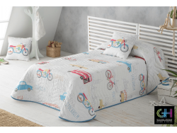 Colcha Estampada TRAVEL SANDECO