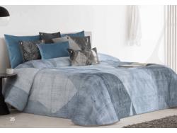 Bouti CAROLINA Azul de Textil Antilo